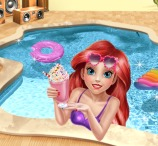 Princess Ariel Pool Time