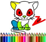 BTS Cat Coloring