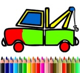 BTS Coloring Truck