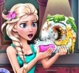 Elsa Dish Washing Realife