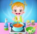 Baby Hazel Kitchen Time