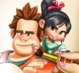 Vanellope Coloring Book