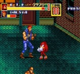 Knuckles in Streets of Rage 2