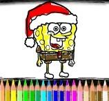 BTS Spongebob Coloring