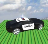 Impossible Police Car Track 3D