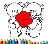 Happy Valentine's Day Coloring