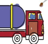 Tank Truck Coloring