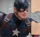 Captain America Jigsaw Puzzle
