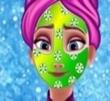 A Limpeza de Pele da Princesa Elsa
