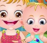 Baby Hazel Babá do irmão