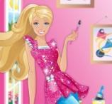 Jogos de Pintar Barbie