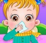 Bebê Hazel Fica Doente