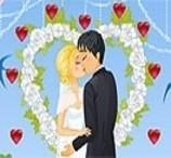 Beijando no Casamento