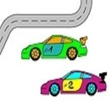 Carrera Racing Coloring