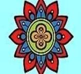Colorir a Mandala de Lótus