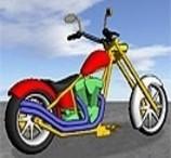 Colorir a Moto Clássica 3D