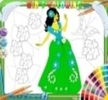 Colorir a Princesa