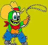 Colorir Gummy Bear Cowboy