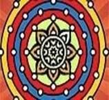 Colorir Mandala da Prosperidade