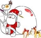 Jogos de Pintar Papai Noel