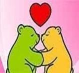 Colorir Ursinhos Com Coração