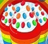Cozinhar Cupcakes Arco Irís