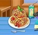 Cozinhar Espaguete de Frango