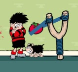 Dennis and Gnasher's Splat Attack