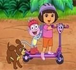Jogos de Bicicleta da Dora