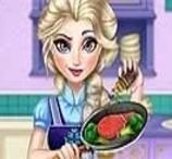 Jogos de Cozinhar da Frozen