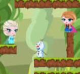 Frozen Elsa Eat Beans