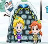 Frozen Elsa Find Candy