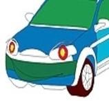 Funny Car Kids Coloring