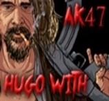 Hugo with AK47