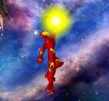 Iron Man Defend Earth
