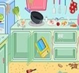 Limpe a Cozinha do Restaurante