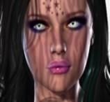 Maquiagem Gótica em 3D
