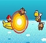 Mario Skypop Action
