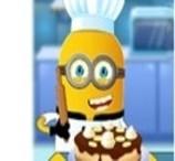 Minion Cozinha Bolo de Banana