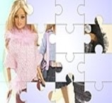 Montar Quebra Cabeça da Barbie