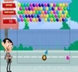 Mr. Bean Bubble Shooter