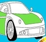New Car Coloring