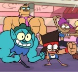 OK KO! Parking Lot Wars