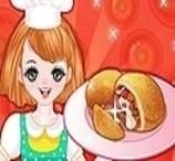 Pão Recheado de Pizza