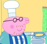 Peppa Daddy's Big Pancake