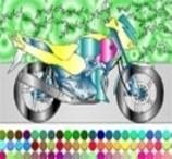 Jogos de Pintar Moto