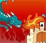 PIntar o Dragão e o Castelo