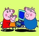 Pintar Peppa Pig no Computador