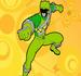 Pintar Power Ranger Verde