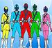 Pintar Power Rangers Samurai